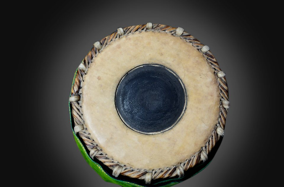 A Small Mohra Korvai On Synthetic Mridangam