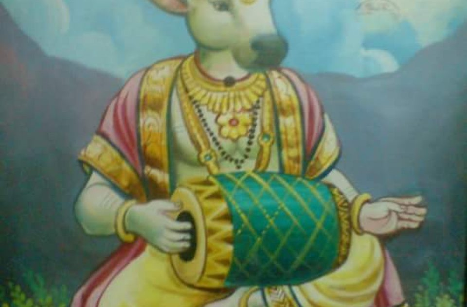 """Lord Nandikeshwara – The God Of Mridangam"""